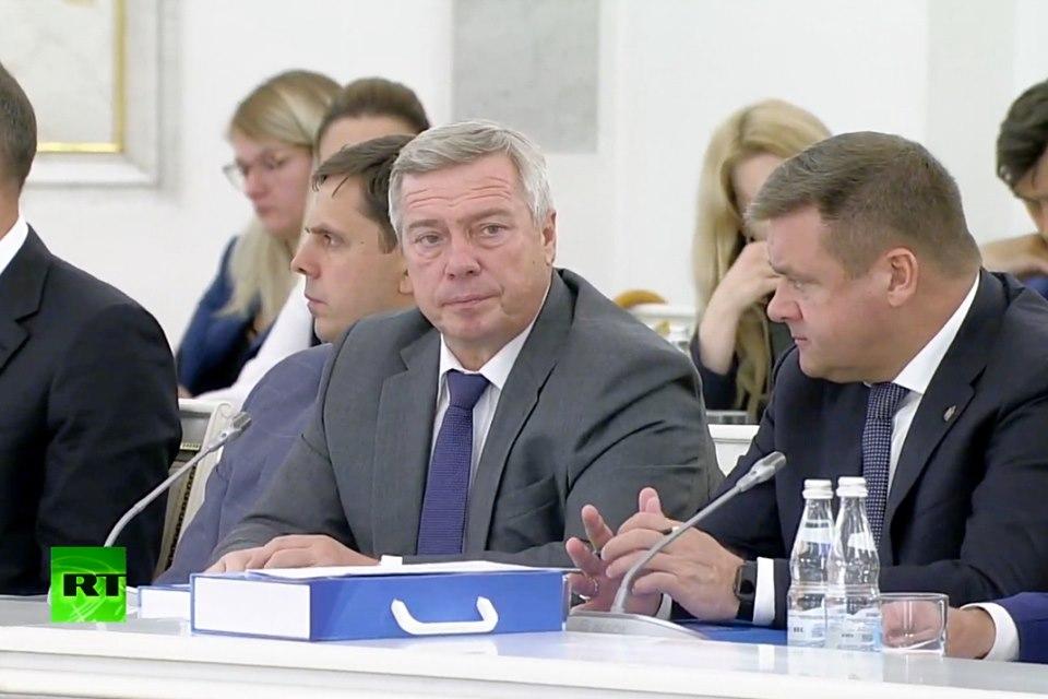 Василий Голубев принял участие в заседании Госсовета РФ