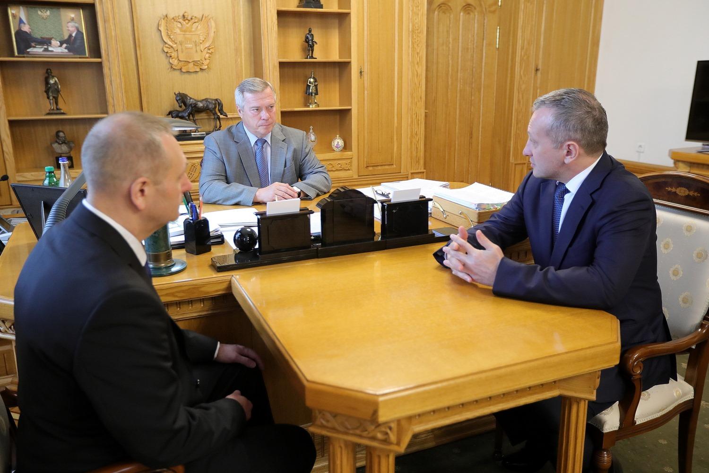 Губернатор встретился с руководителем управления казначейства