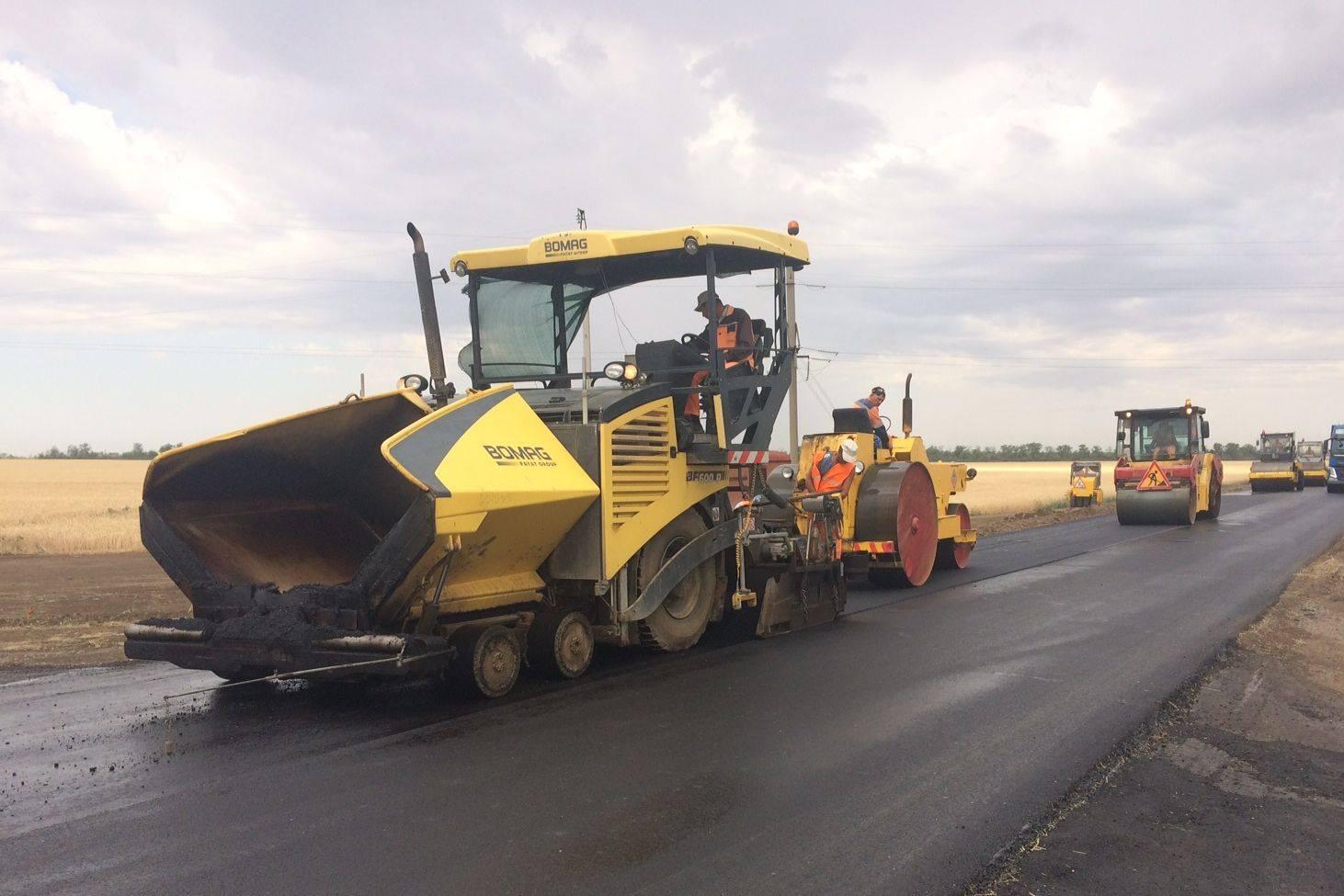 Донские дорожники завершили ремонт на 24 объектах регионального значения