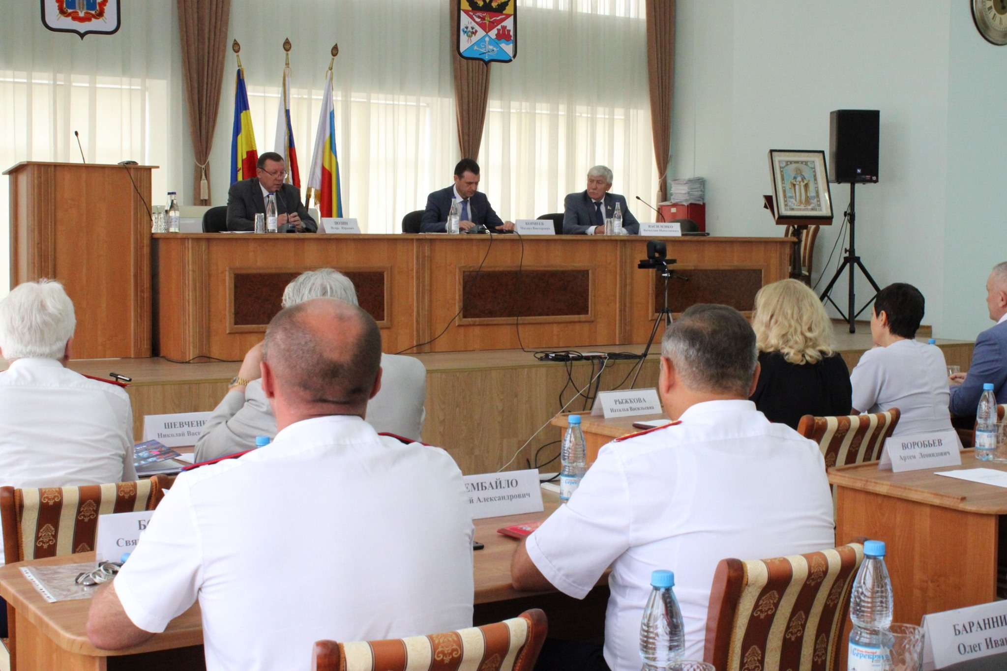 Состоялось заседание рабочей группы по делам казачества