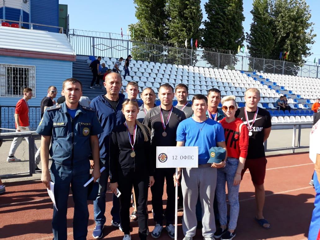 Победители соревнований по пожарно-спасательному спорту среди подразделений ФПС региона определились в Волгодонске