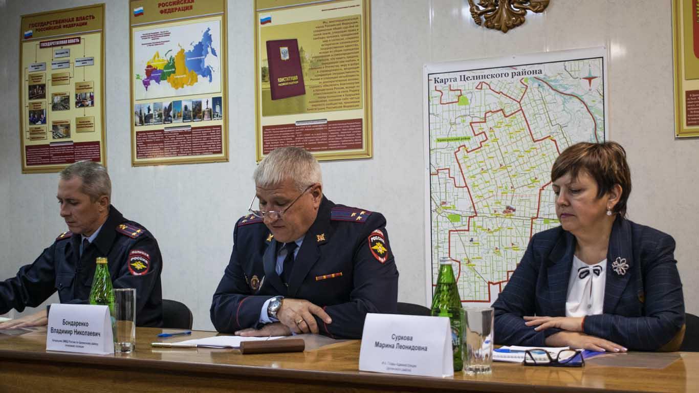 Целинский Отдел МВД подвел итоги за 9 месяцев работы