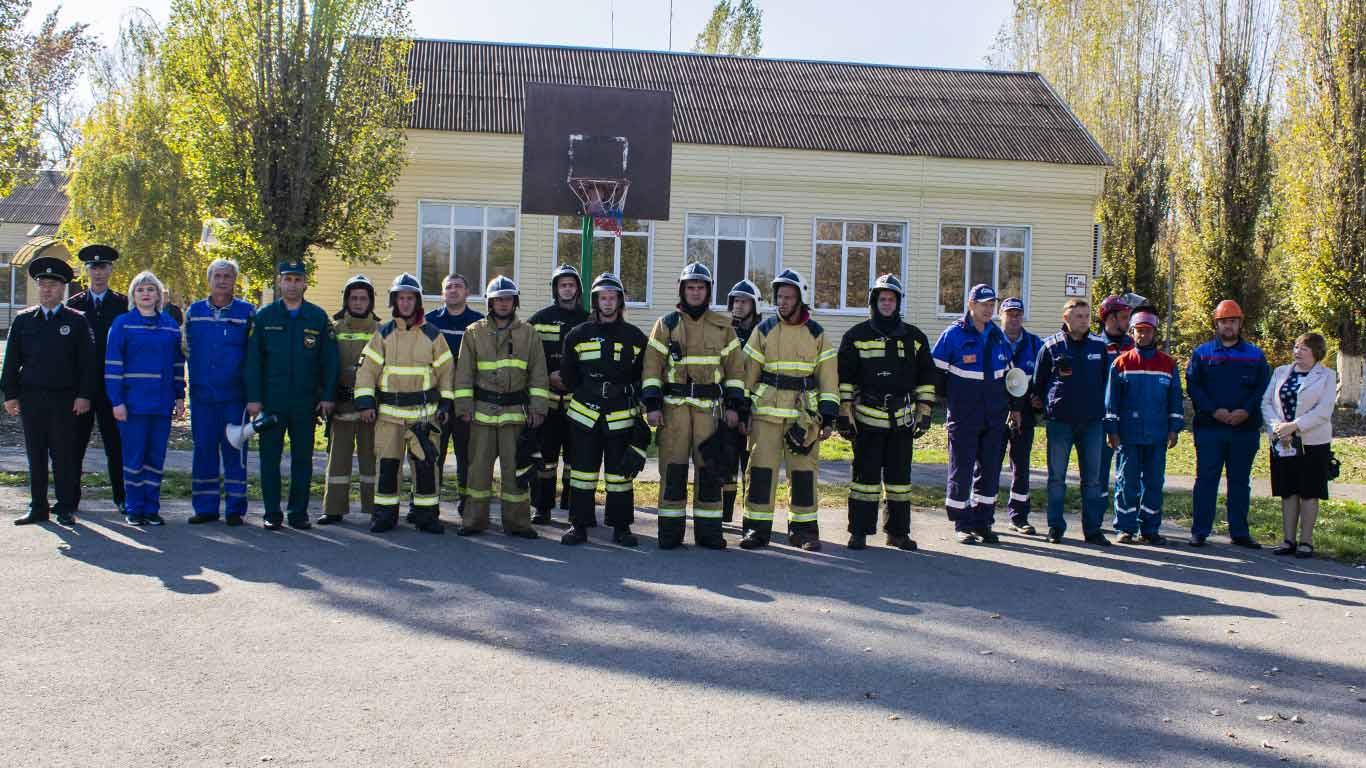 С 15 по 17 октября на территории Целинского района стартовали командно-штабные учения ГО и ЧС