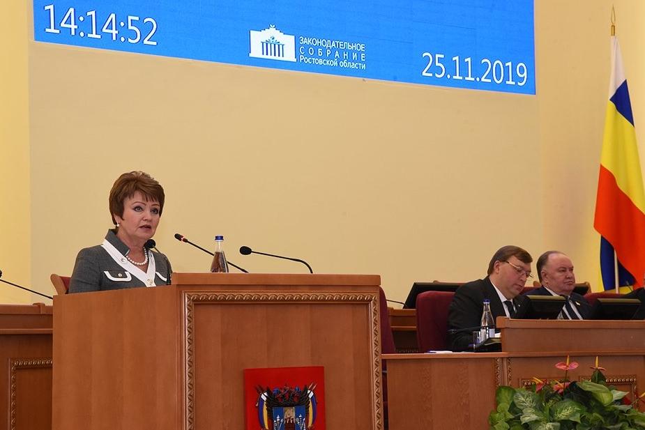 Проект бюджета Ростовской области на 2020 год и последующий плановый период принят в первом чтении