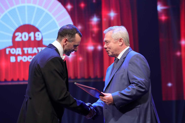Василий Голубев: «В Год театра донские артисты показали более 2 тысяч спектаклей»