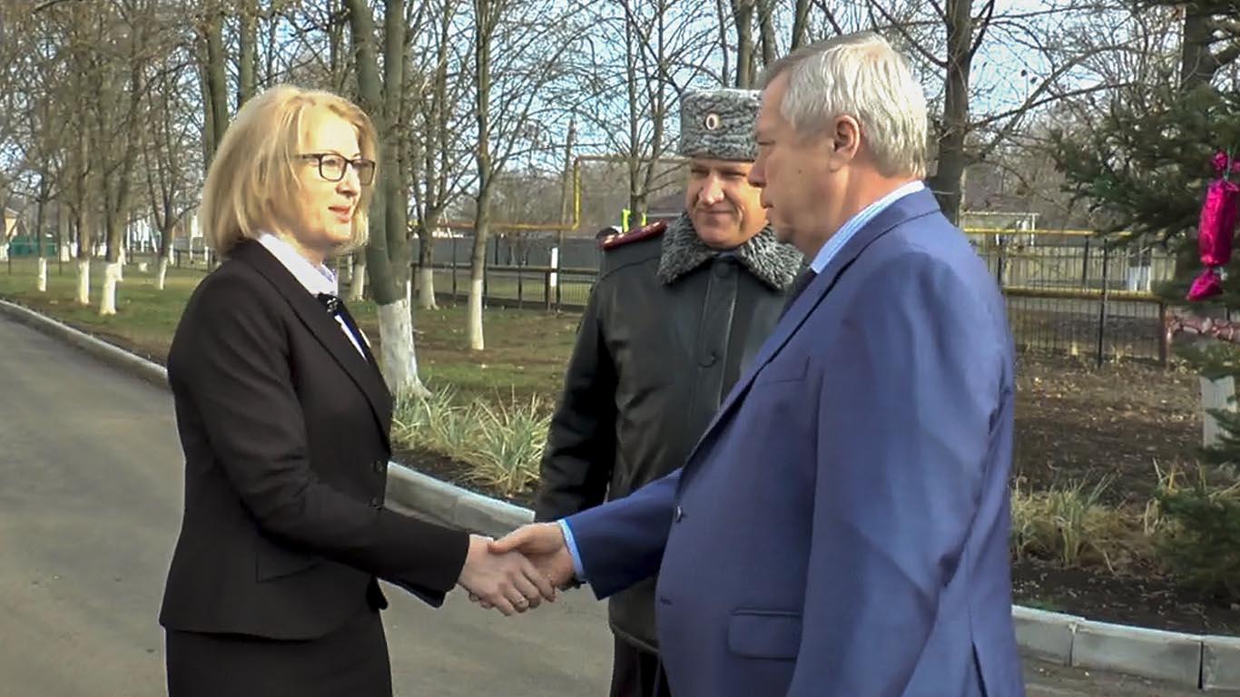 Целинский район с рабочим визитом посетил Губернатор РО