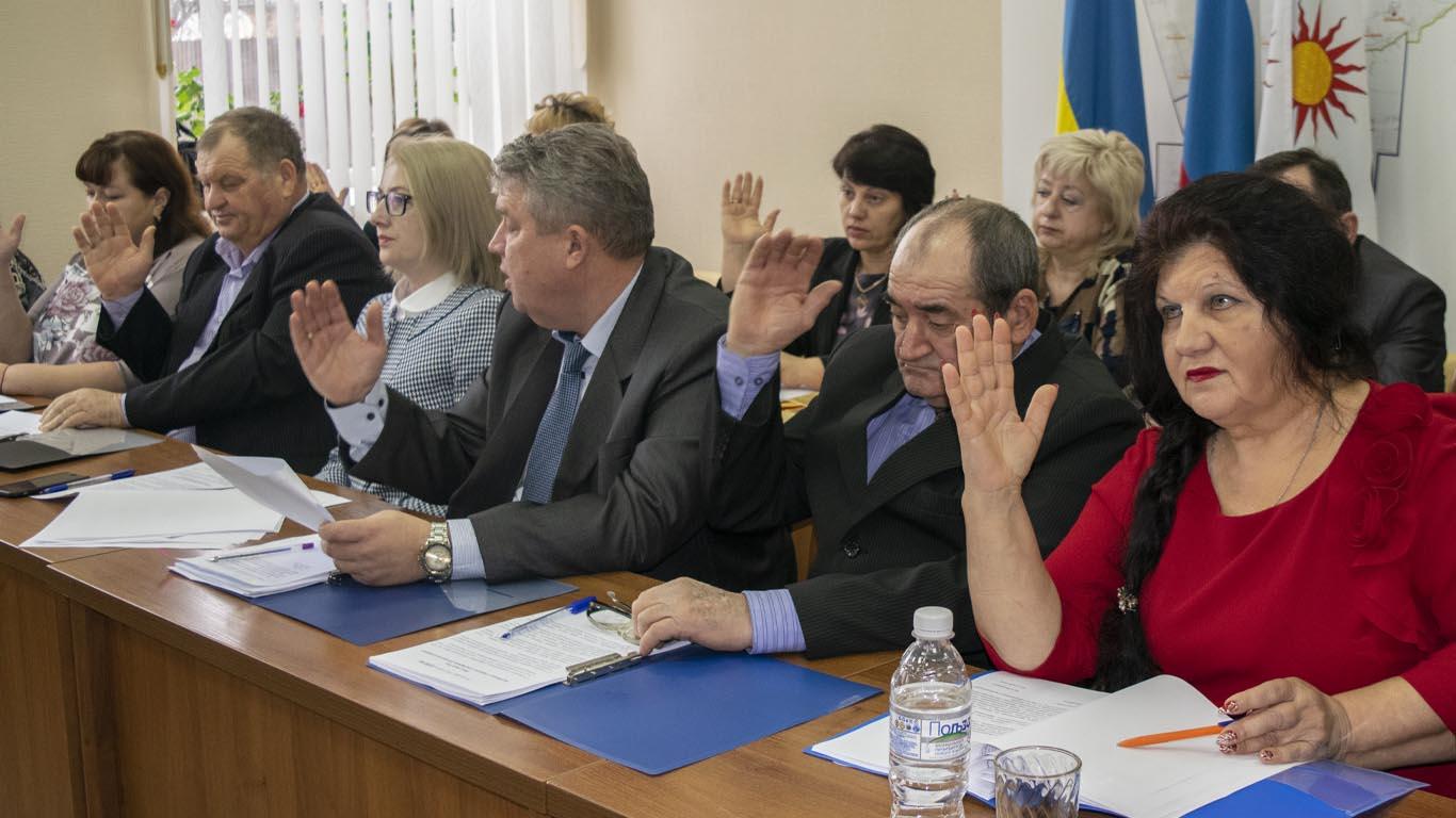В Собрании депутатов Целинского района