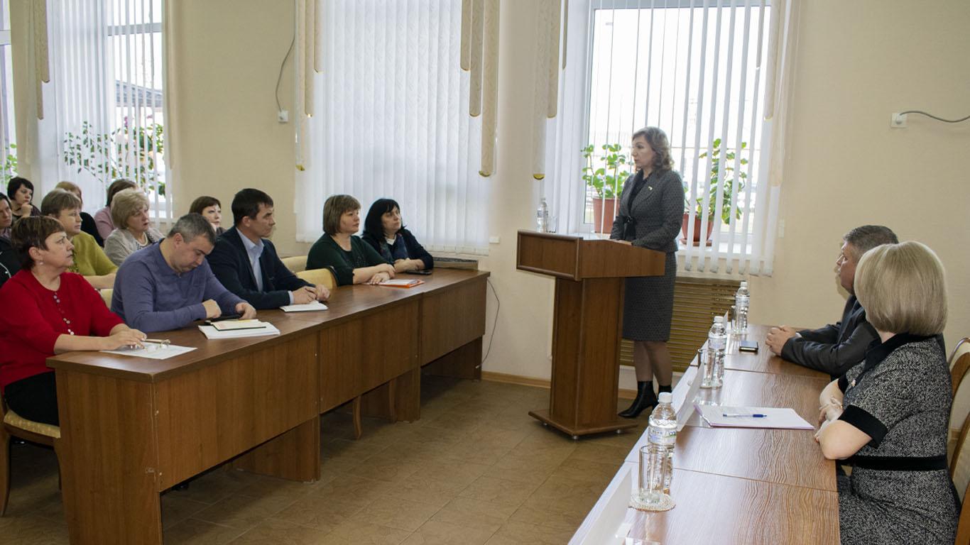 Сегодня в Администрации Целинского района состоялась встреча актива Целинского района с депутатом ГД РФ Л.Н. Тутовой.