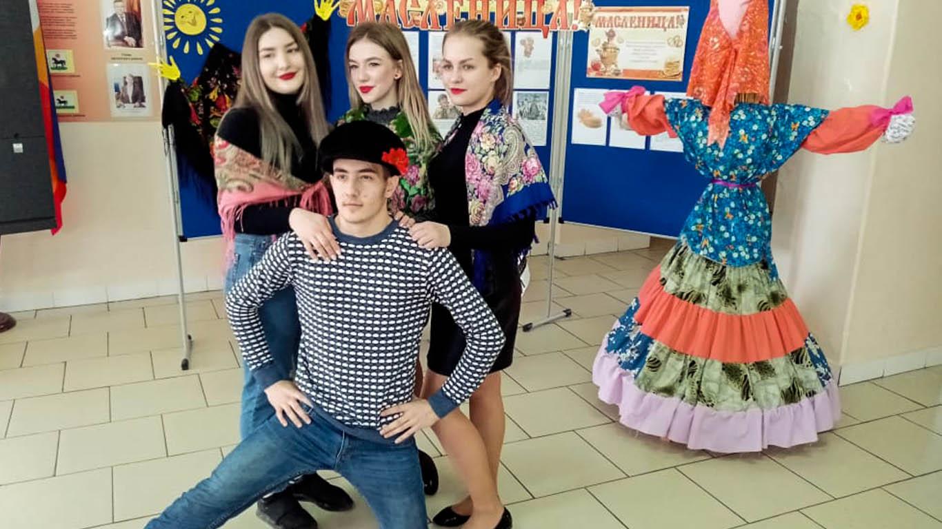 Широкая Масленица в Целинской школе №1