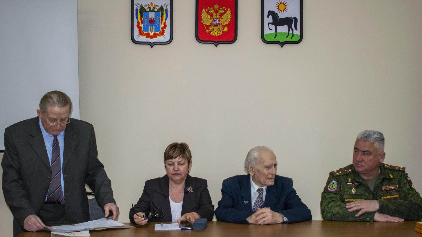 Районный Совет ветеранов готовится к Великой дате
