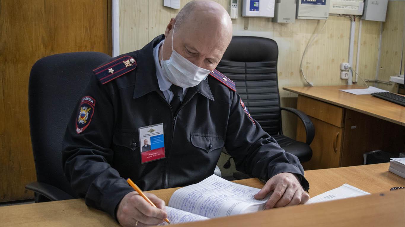 Целинские полицейские по горячим следам задержали преступника