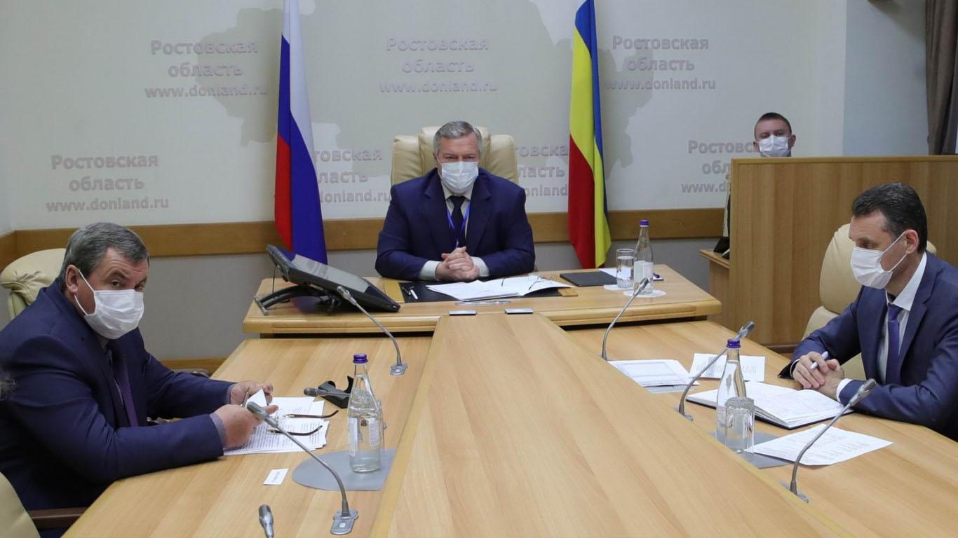 Василий Голубев утвердил пакет мер социальной поддержки граждан на период ограничительных мероприятий