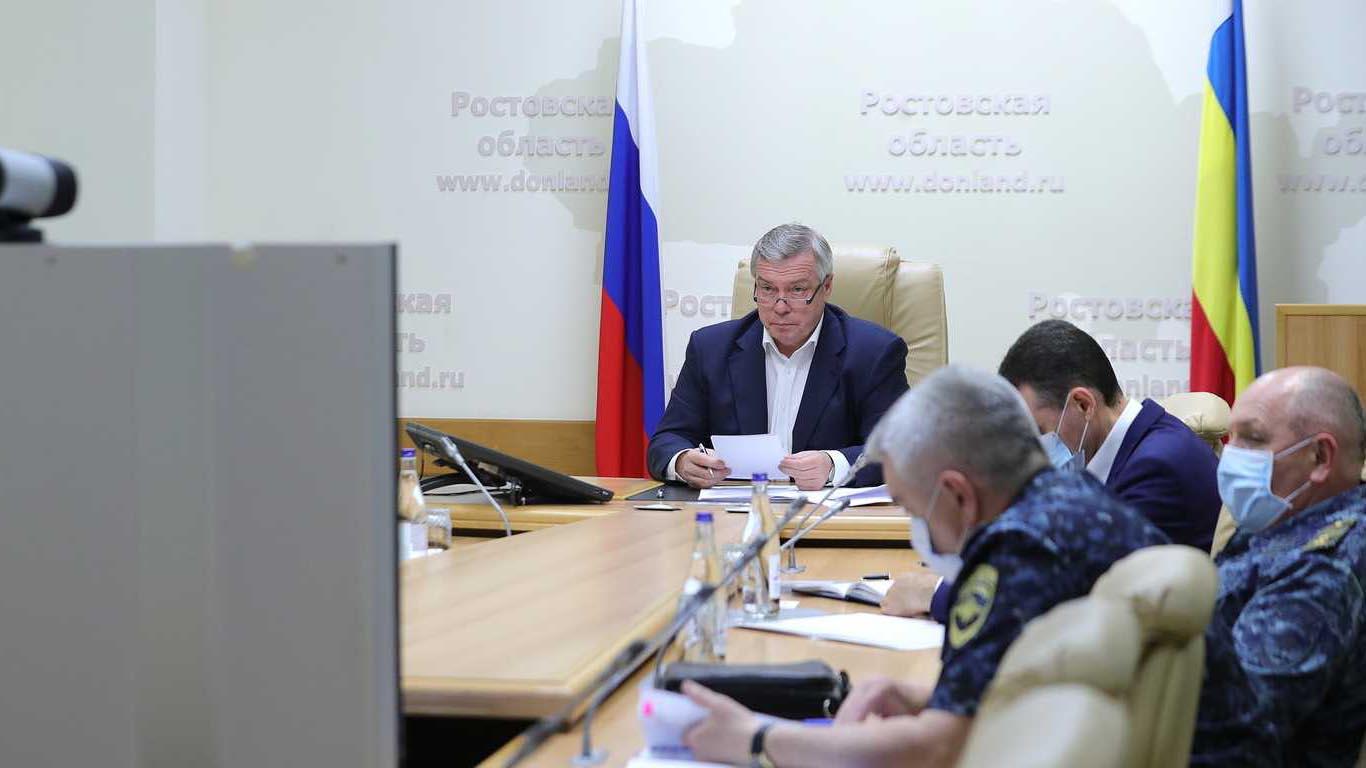 Василий Голубев рассказал о плане поэтапного снятия ограничений