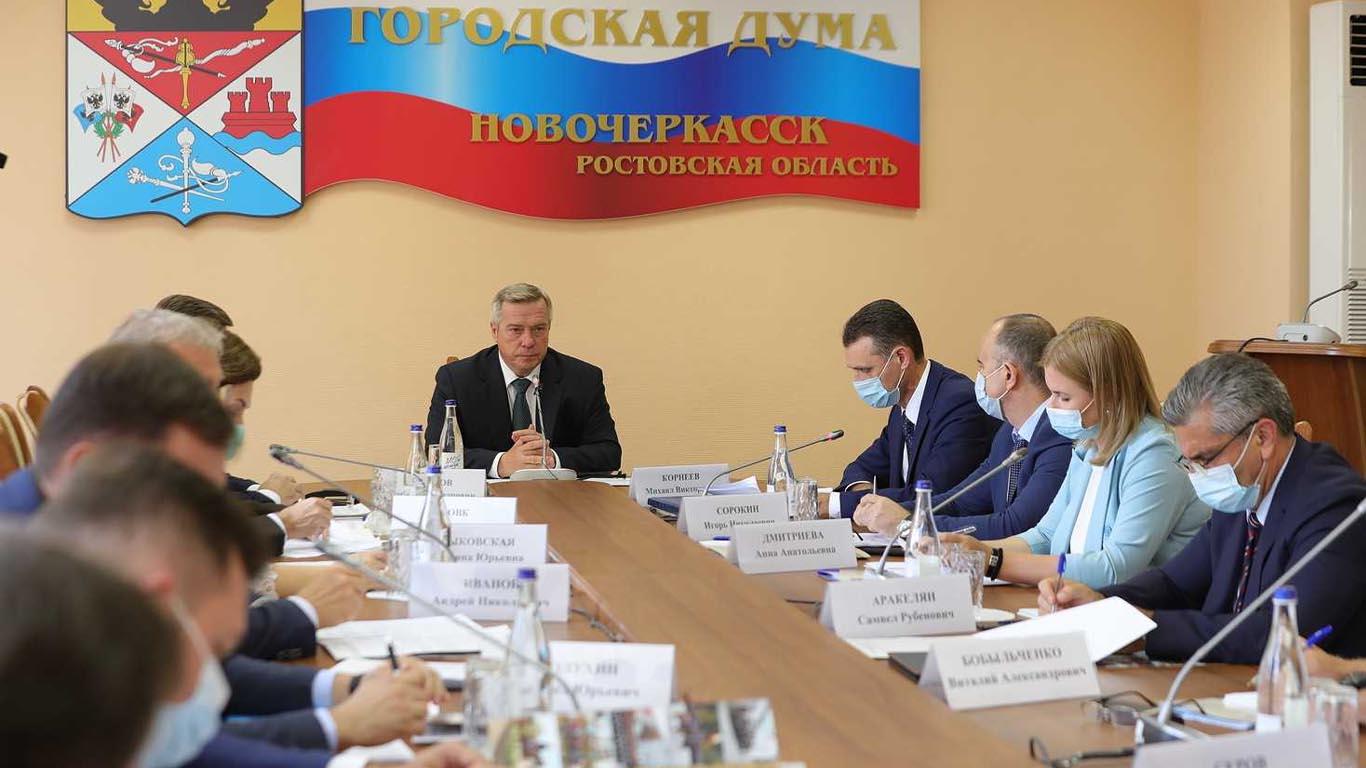 В столице донского казачества Новочеркасске обновляют городскую инфраструктуру