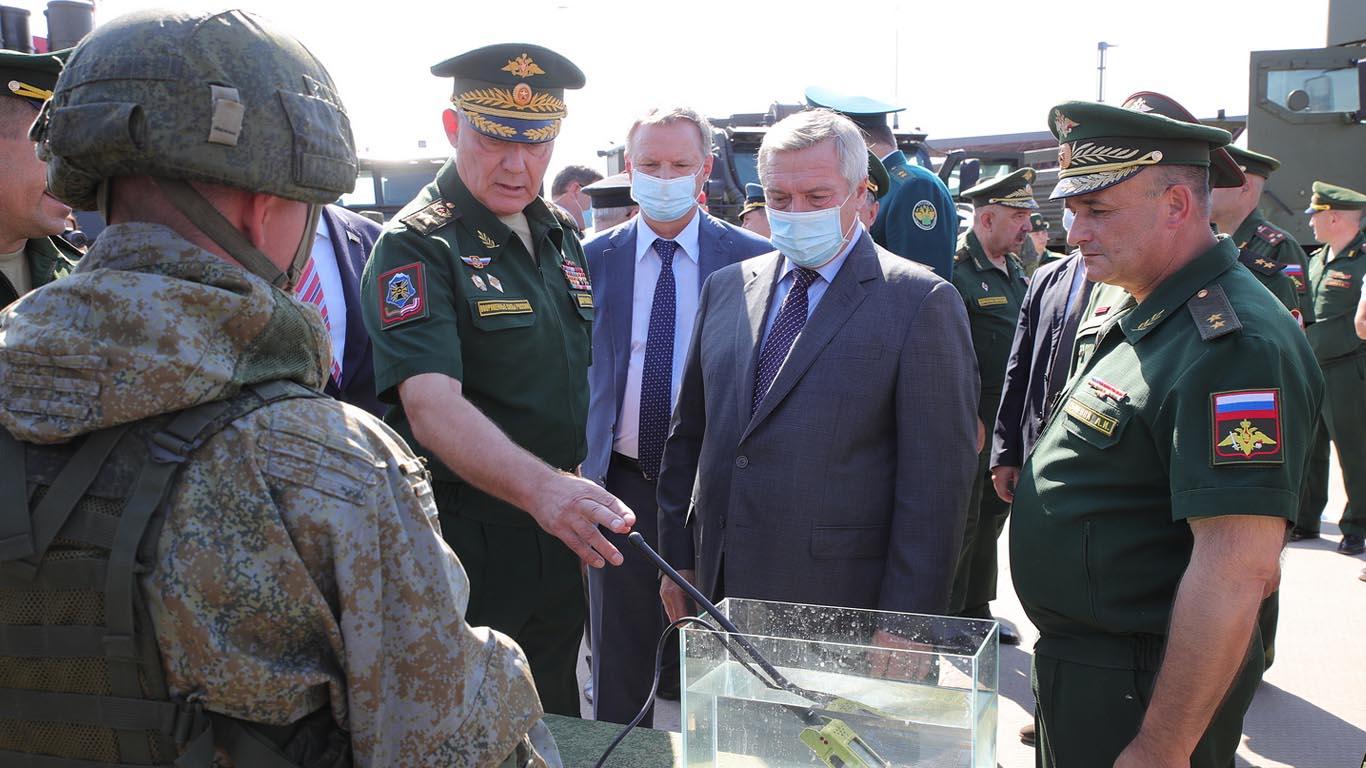 В Неклиновском районе стартовал военно-технический форум «Армия-2020»