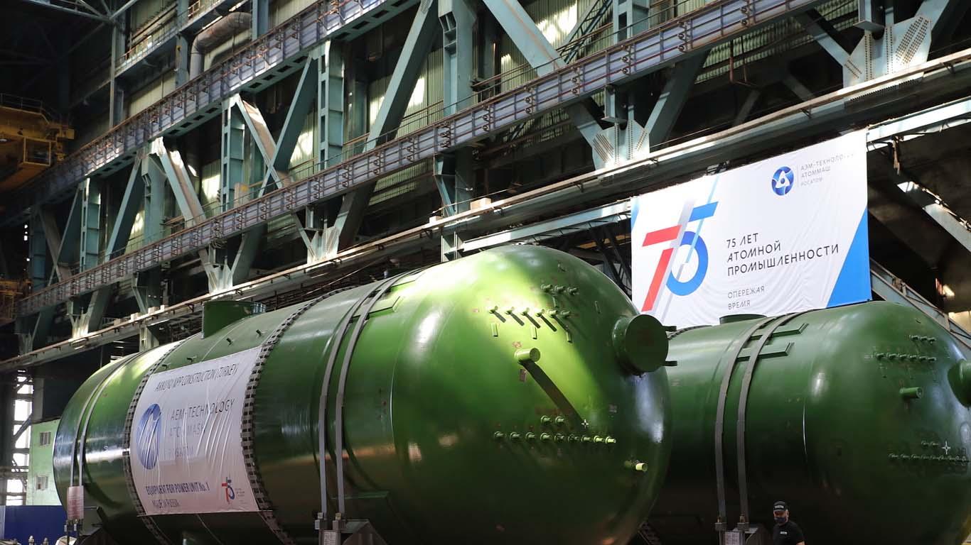 В Волгодонске начали отгрузку парогенераторов для первой АЭС Турции