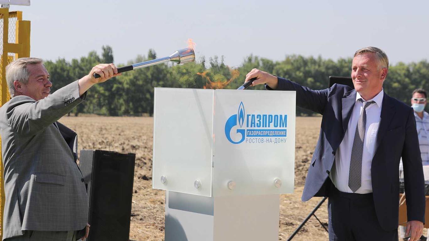 Губернатор и представители «Газпрома» обсудили донскую пятилетку по газификации региона