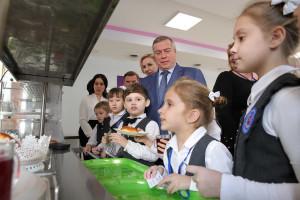 Учащимся начальной школы Ростовской области – бесплатное питание