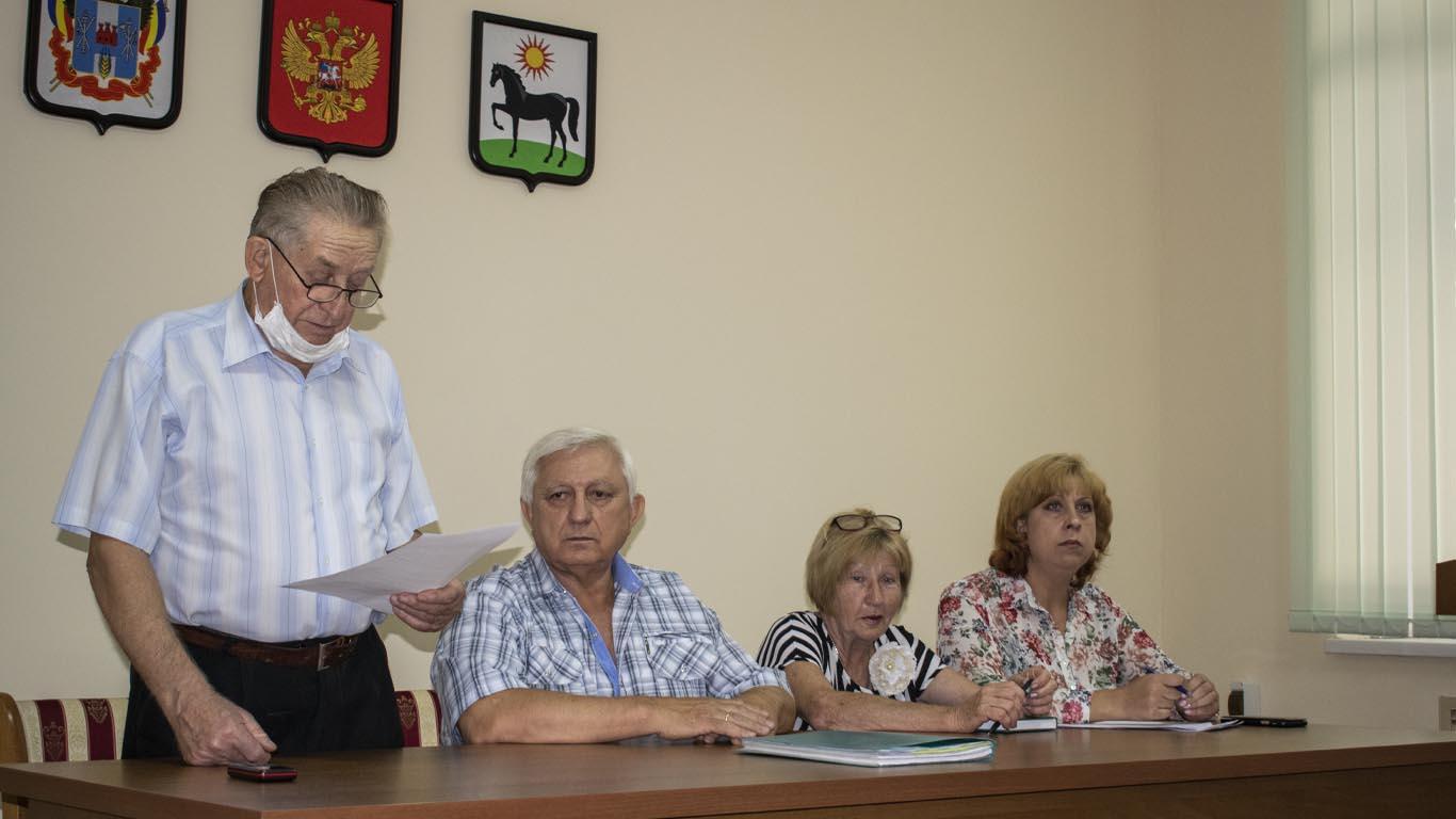 Ветеранский актив Целинского района сменил руководство