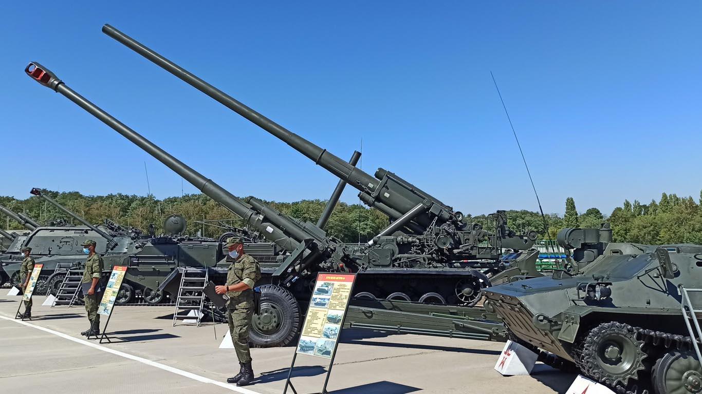 Самые интересные образцы вооружения и техники представят на площадке форума «Армия-2020»