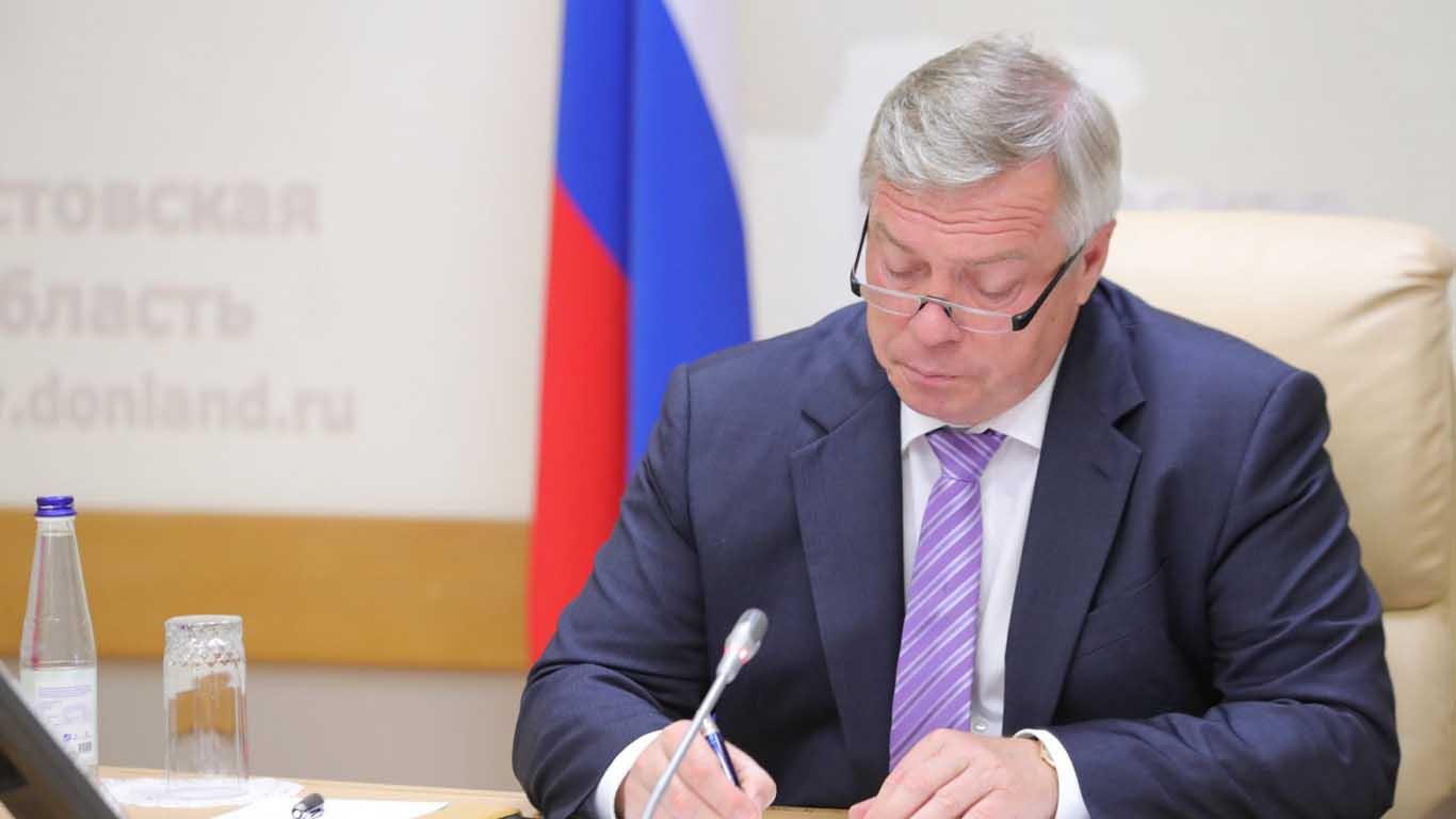 Василий Голубев официально вступит сегодня в должность губернатора Ростовской области