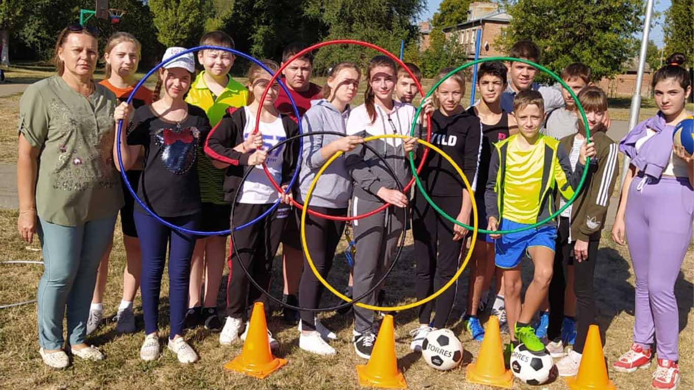 В Целинской школе №8 прошел Всероссийский День здоровья