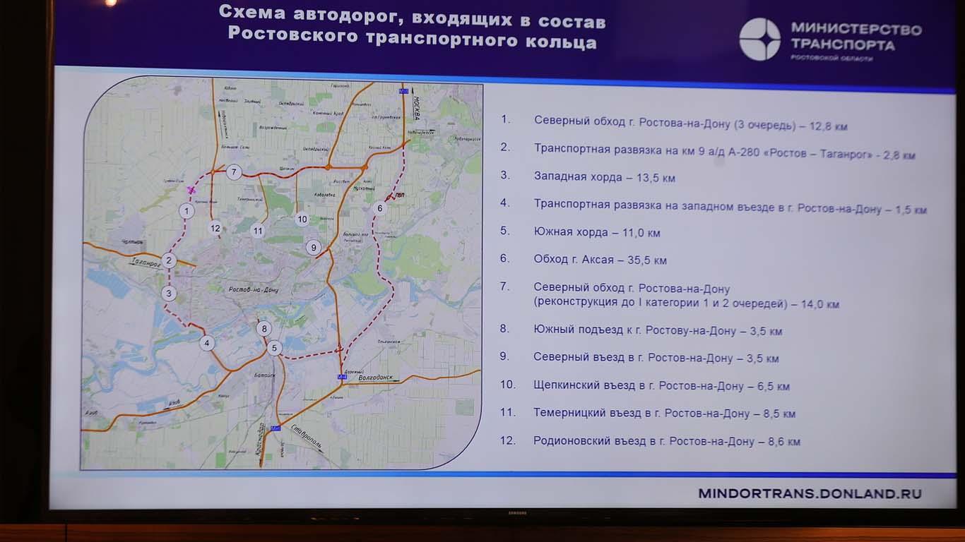 «Ростовское транспортное кольцо» станет мощным стимулом для развития донского региона
