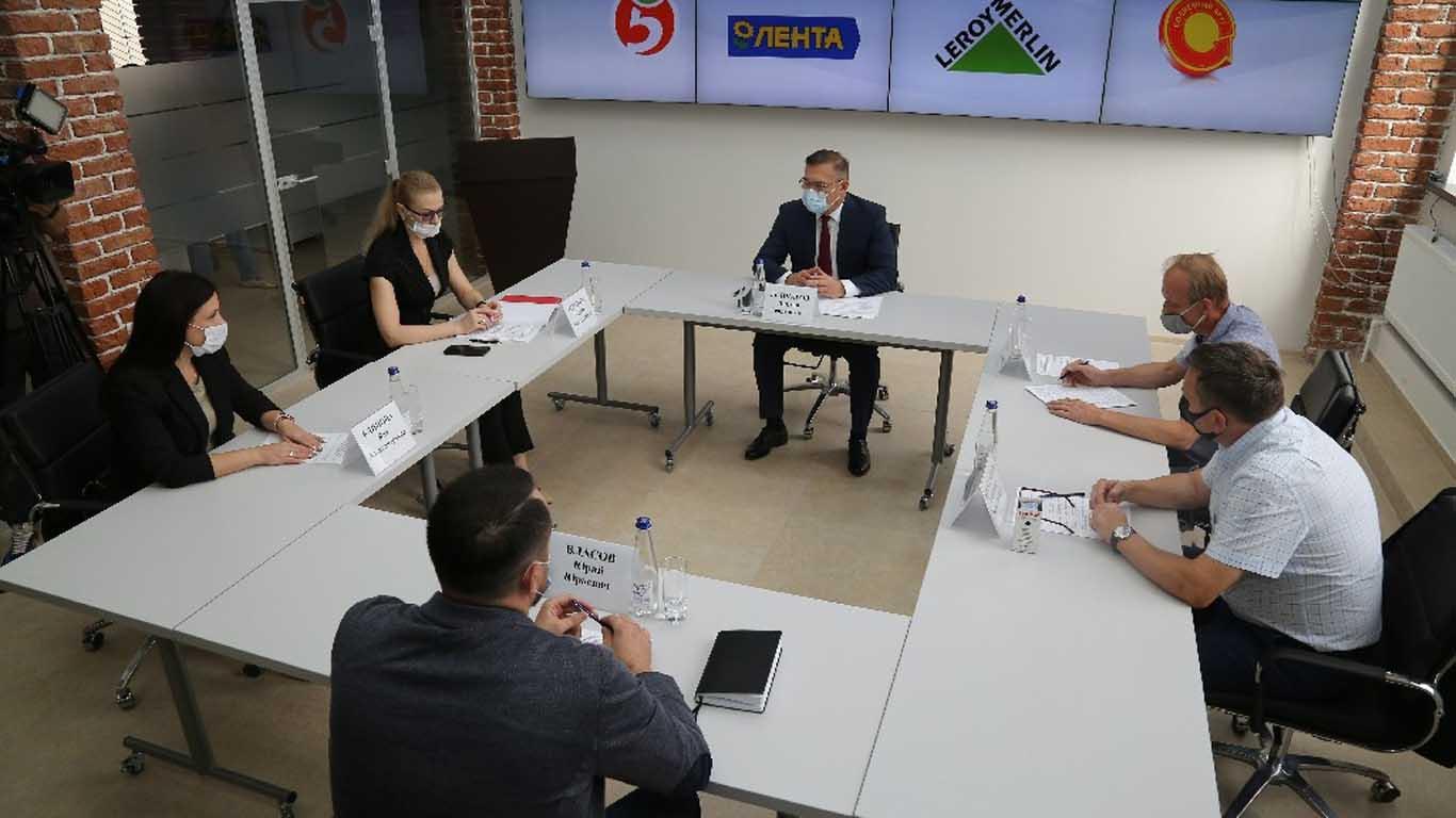 Василий Голубев: «Забота о старшем поколении — наша ключевая задача»