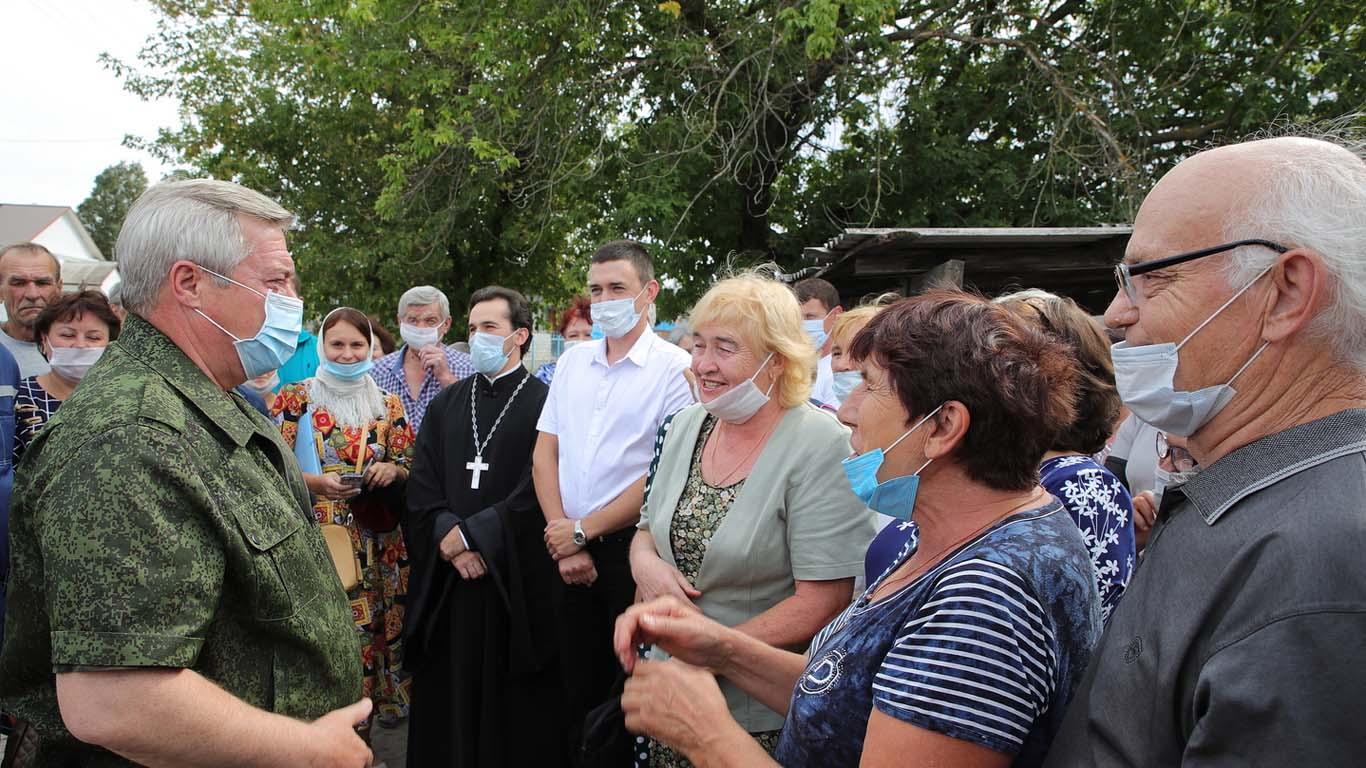 Дончане, потерявшие жильё из-за ландшафтных пожаров, на улице не останутся