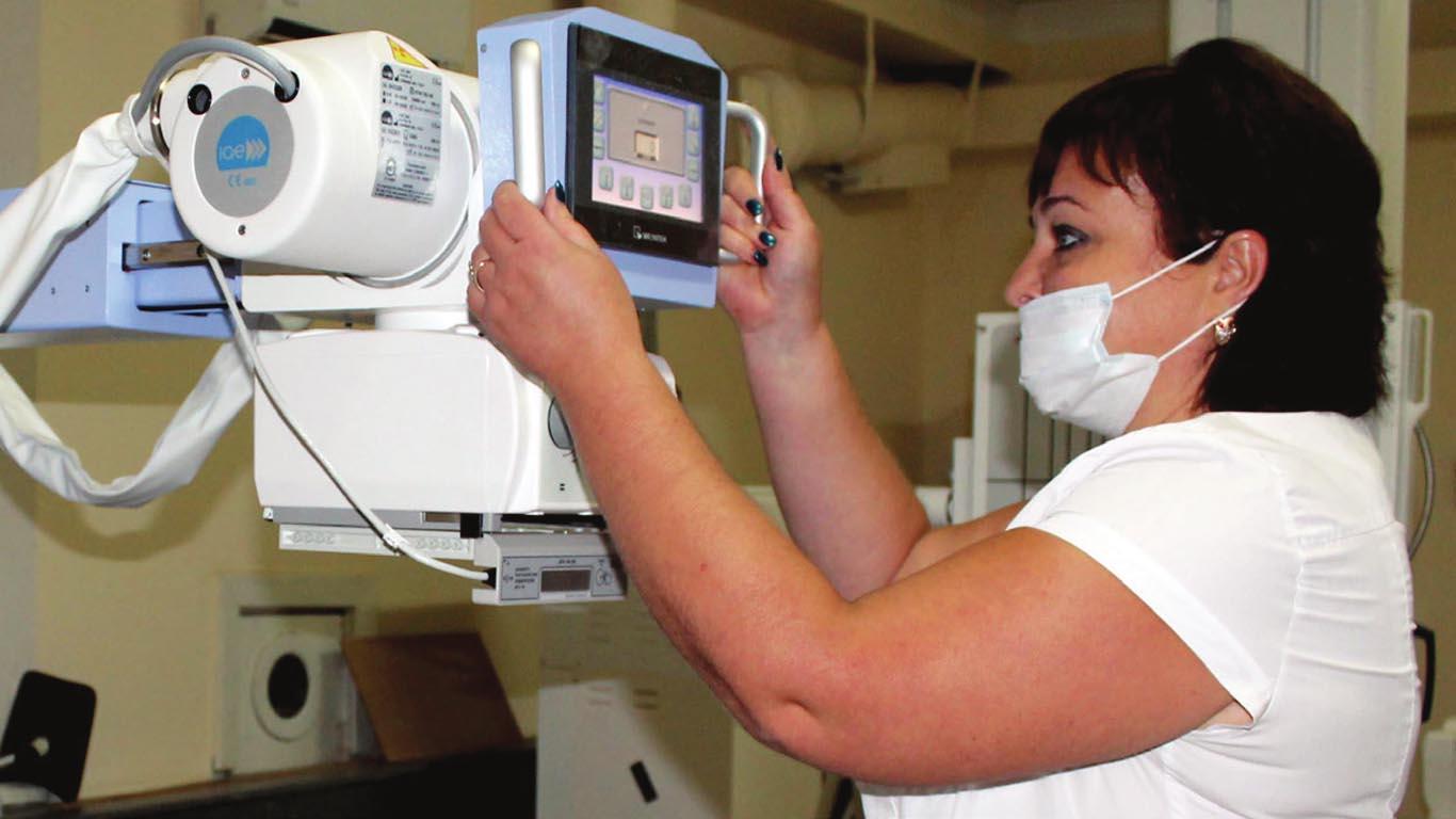Нацпроект «Здравоохранение» В целинской больнице – новый рентген-комплекс