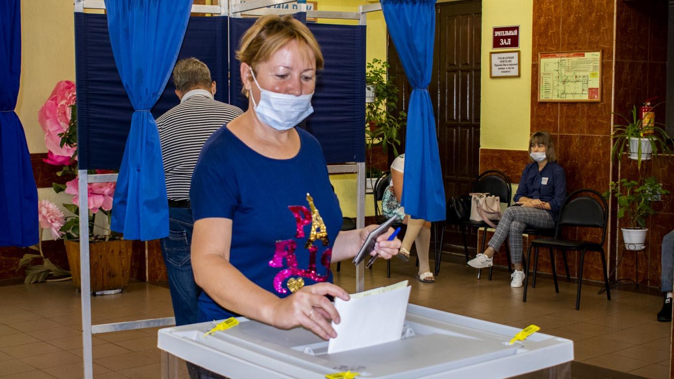 В единый день голосования целинцы проявляют гражданскую активность