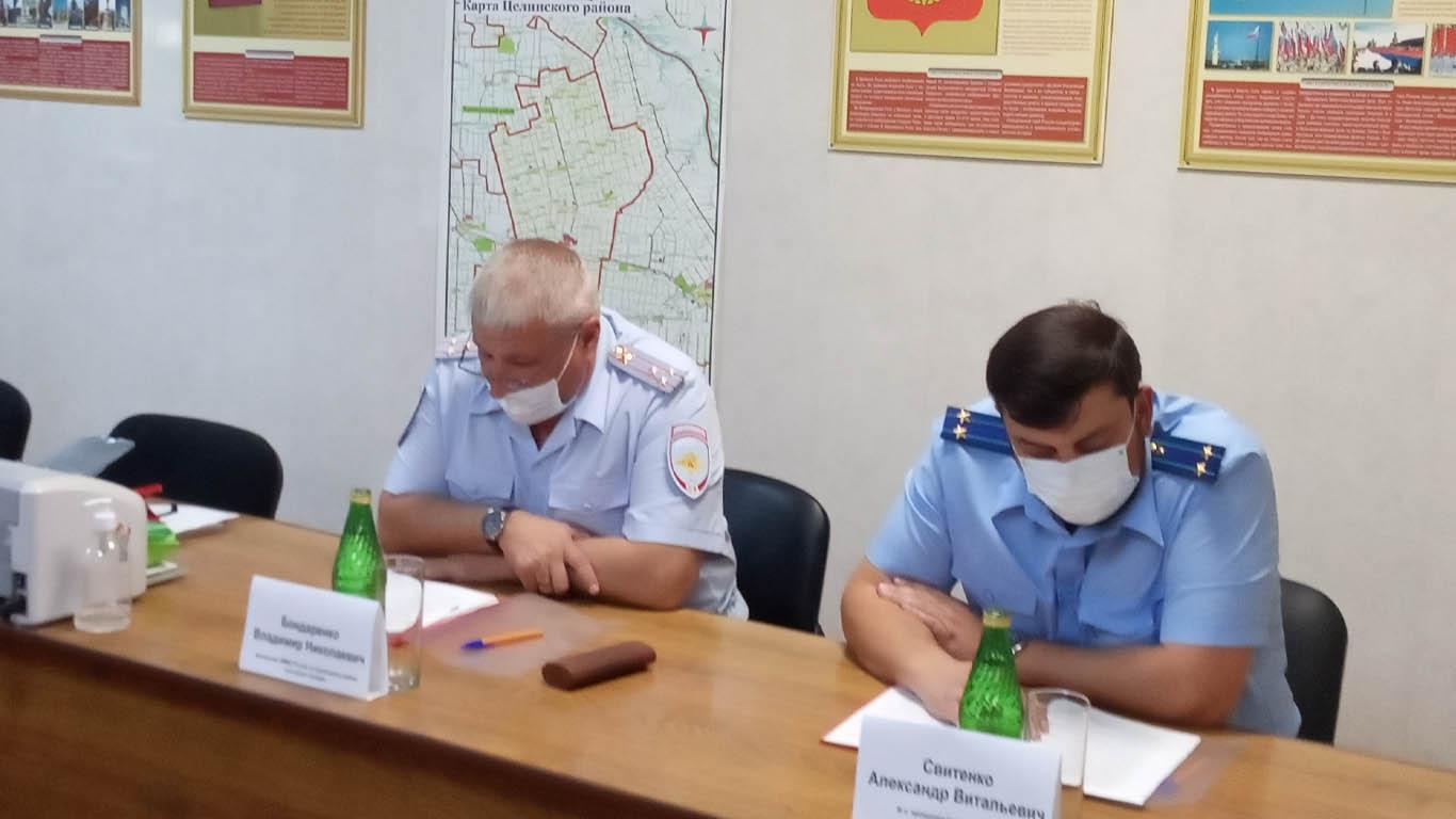 Оперативная обстановка на территории Целинского района остается контролируемой