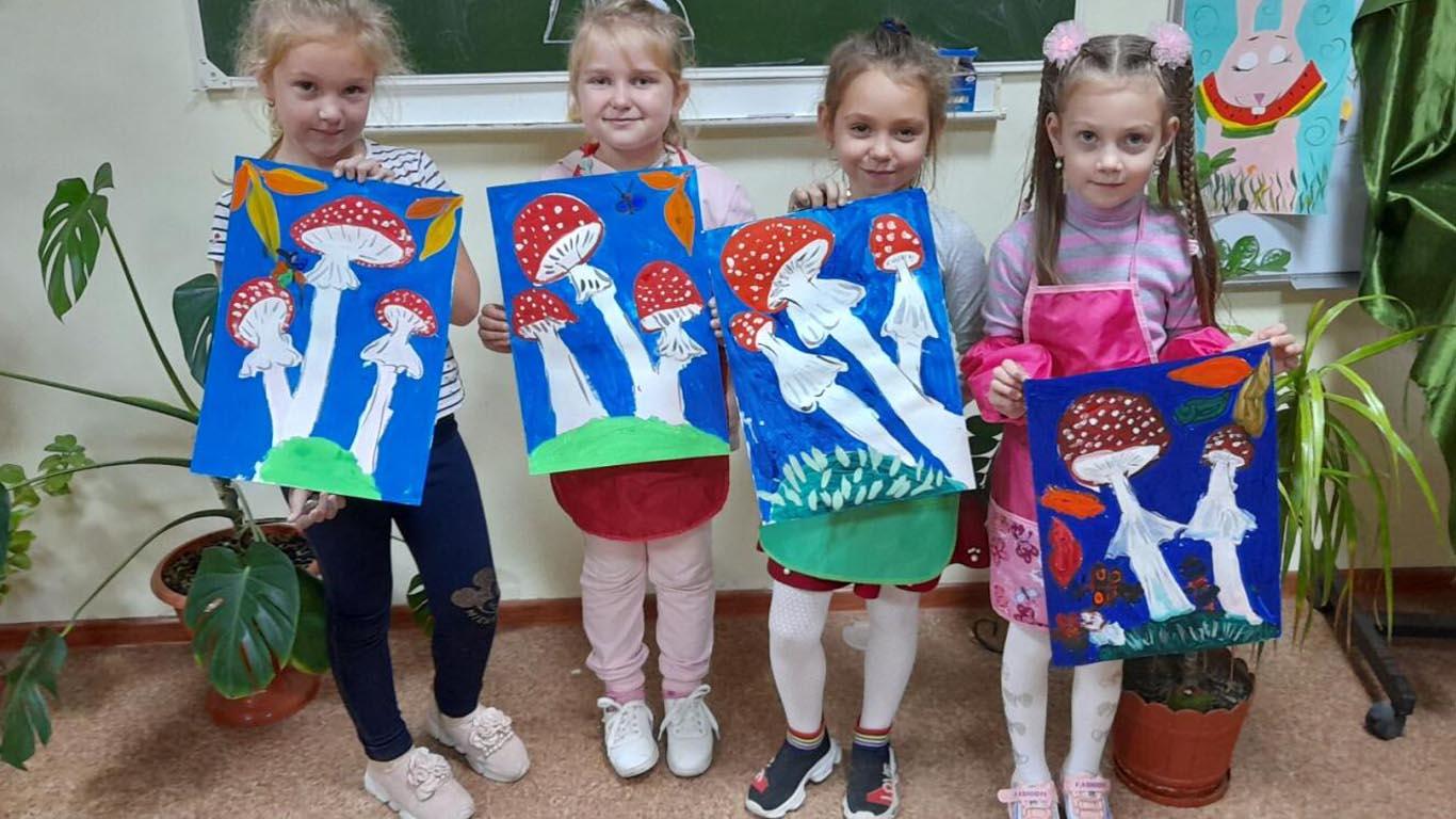 Целинские классы дошкольного этапа обучения подводят первые успехи дошколят