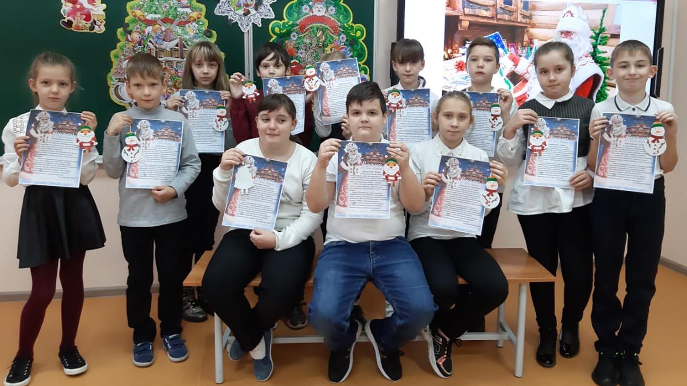 Подарки Деду Морозу отправили из Новоцелинского СДК