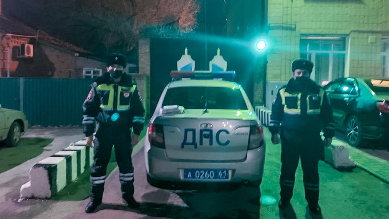 В Целинском районе по горячим следам похитившего газовое оборудование задержали сотрудники ГИБДД