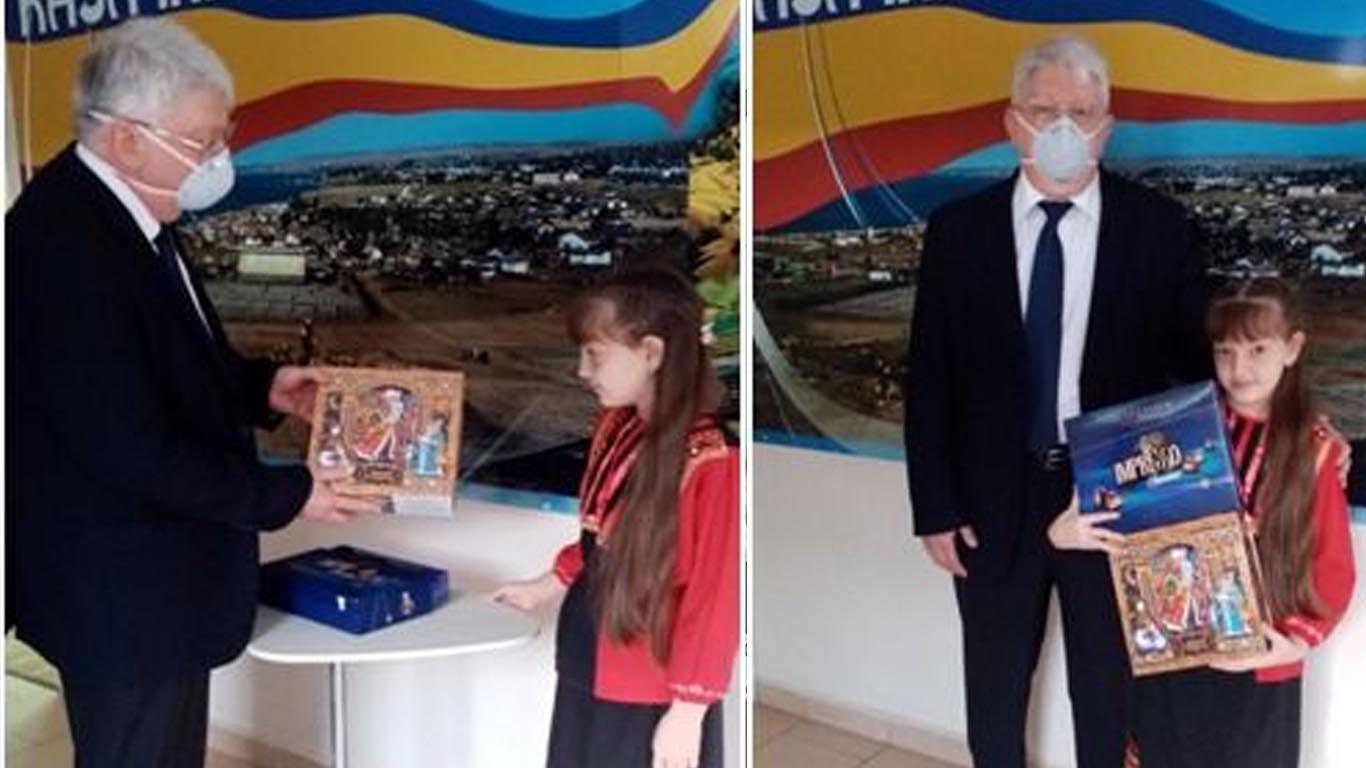 Подарок для Даши от Губернатора Ростовской области