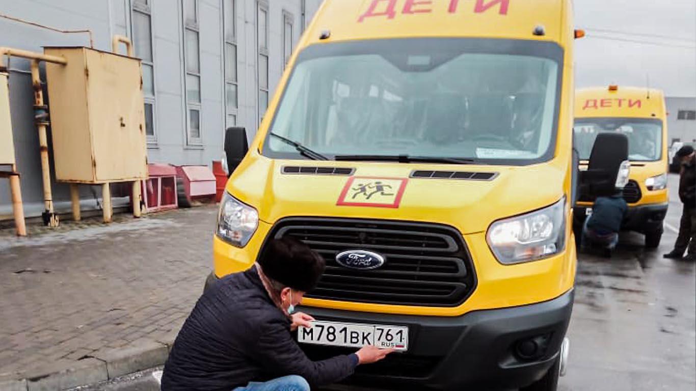 Автопарк школ Целинского района пополнился новой техникой