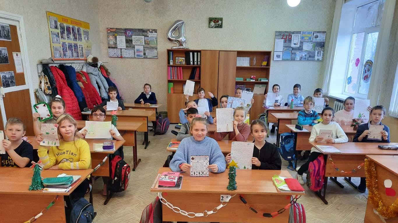 К Новогоднему волшебству готовы ученики 4 класса школы №1