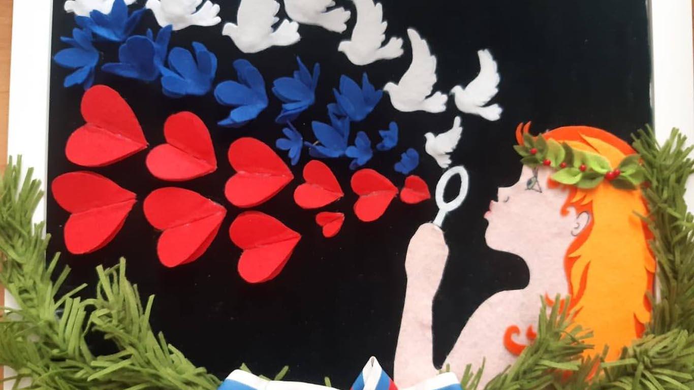 В Ростовской области проведен конкурс творческих работ ко дню рождения «Единой России».