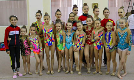 Целинские гимнастки названы в числе лучших
