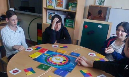 В школах Целинского района прошла игра «Свой среди своих»
