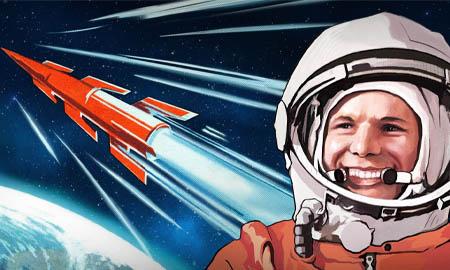 Жители Целинского района отметили 60-летие первого полета человека в космос