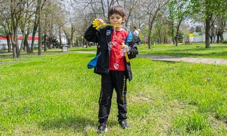 Весенне-летний сезон Целинского парка открыт