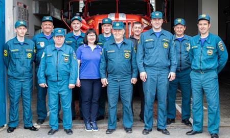 Герои огненного фронта Целинского района отмечают профессиональный праздник