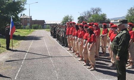 Военно-полевые сборы для учеников десятых классов Целинского района закрыты