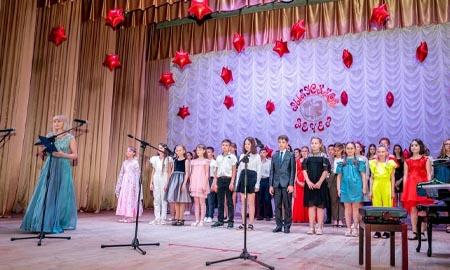 «Звездный бал» выпускников Детской школы искусств Целинского района