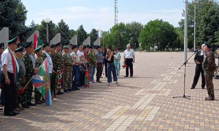 Пограничникам Целинского района есть чем и кем гордиться, кого помнить и чтить