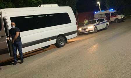 Передвижение автобусов на контроле Отдела ГИБДД