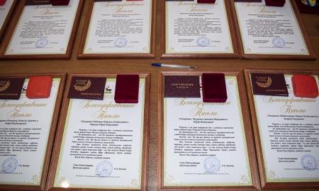 Золотые медали вручили выпускникам Целинского района