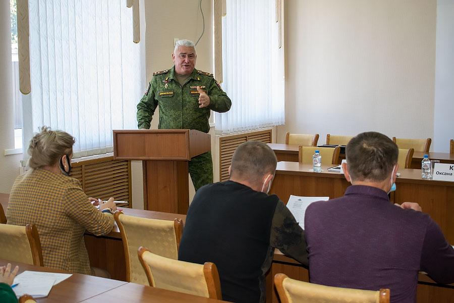 В Целинском районе прошло совещание по вопросам формирования мобилизационного резерва Вооруженных сил РФ